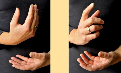foto van handen
